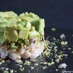 Insalata di avocado e mazzancolle al profumo di lime